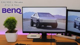 BenQ GW2480 Monitor Review || After One Year Of Usage!