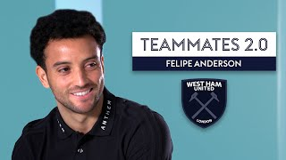 Marko Arnautovic is the club joker?! | Felipe Anderson | Teammates 2.0