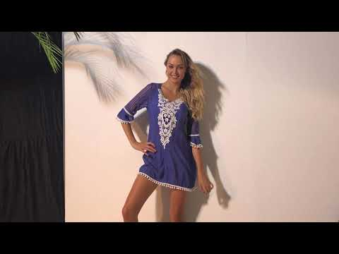 women's-crochet-pom-pom-trim-lace-beach-cover-up