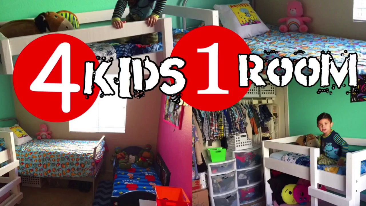 4 Kids In One Room Youtube