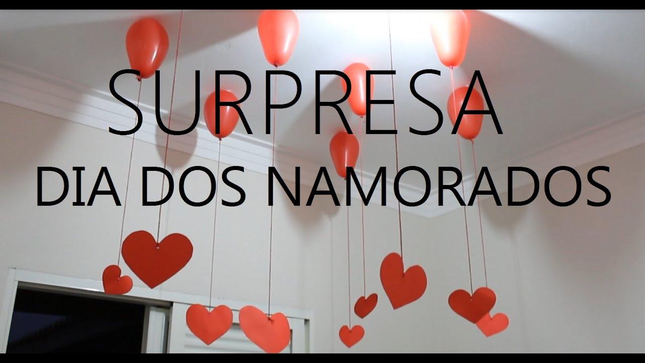 Dia Dos Namorados: SURPRESA DIA DOS NAMORADOS ♥