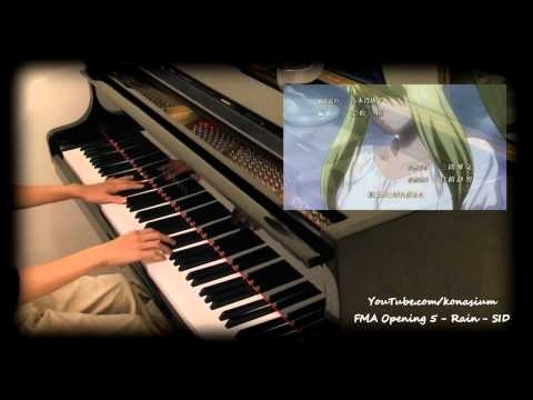 Rain SID  FMA Brotherhood OP 5  Piano