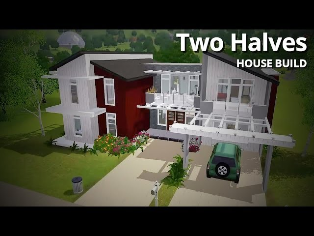 The Sims 3 House Building - Two Halves