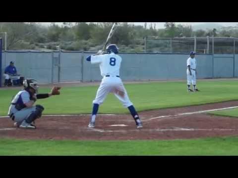 Fountain Hills High School Falcon Baseball vs Northwest Christian - March 13 2014