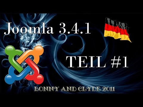 Joomla 3.4.1 – #1 Homepage mit Joomla erstellen – Vorbereitung [HD]