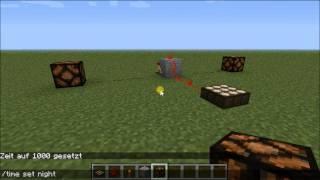 Minecraft Work Tutorial Nr.2 Zeitschaltuhr