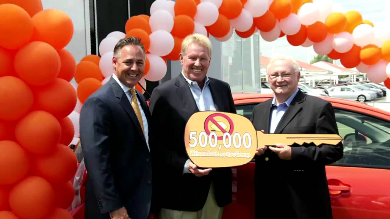 Toyota Of Orange >> Toyota Of Orange Sells David Wilson Automotive Group S 500 000th Toyota