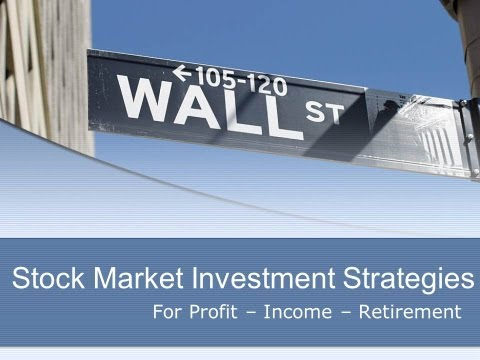 Investment Stock Market Strategies Tool for Profit, Income, Retirement, Excel Template Data Download