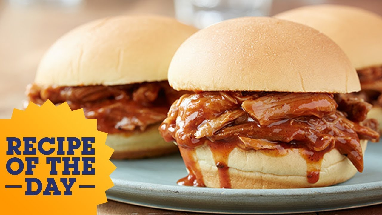 Recipe of the day slow cooker pulled pork food network youtube recipe of the day slow cooker pulled pork food network forumfinder Image collections