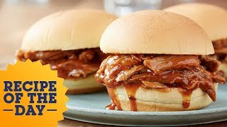 Recipe of the Day: Slow-Cooker Pulled Pork   Food Network