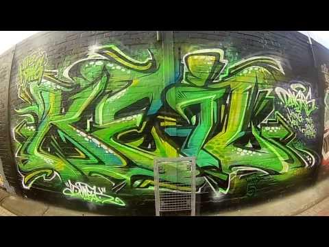 GRAFFITI KING KEIL DNGRS VIDEODREH HALL