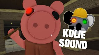 ROBLOX PIGGY 2 PIGGY WITH KOLIE SOUND JUMPSCARE - Roblox Piggy Book 2