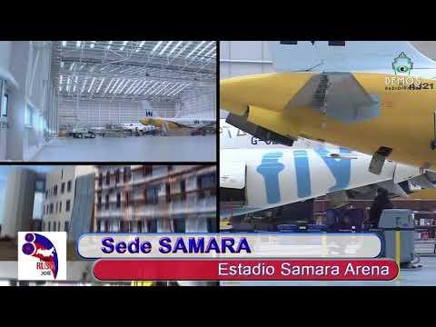 Sede SAMARA Estadio SAMARA Arena en RUMBO RUSIA 2018 30SEP17