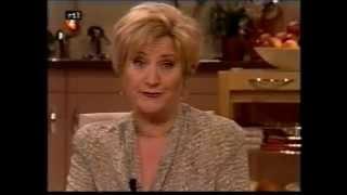 """Jasperina de Jong in: """"Koffietijd"""". TV-programma."""