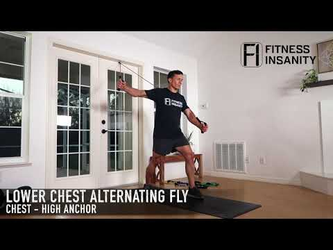 Chest Workout with Resistance bands | Fitness Insanity