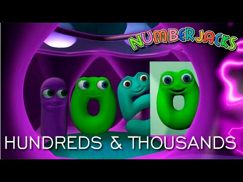NUMBERJACKS | Hundreds And Thousands | S2E20