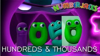 NUMBERJACKS | Hundreds And Thousands | S2E20