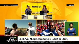 Senekal murder accused back in court