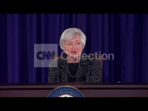 FEDERAL RESERVE CHAIR YELLEN-FED FUND RATE