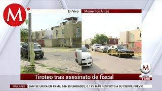 Policías y civiles se enfrentan a balazos en Tlajomulco