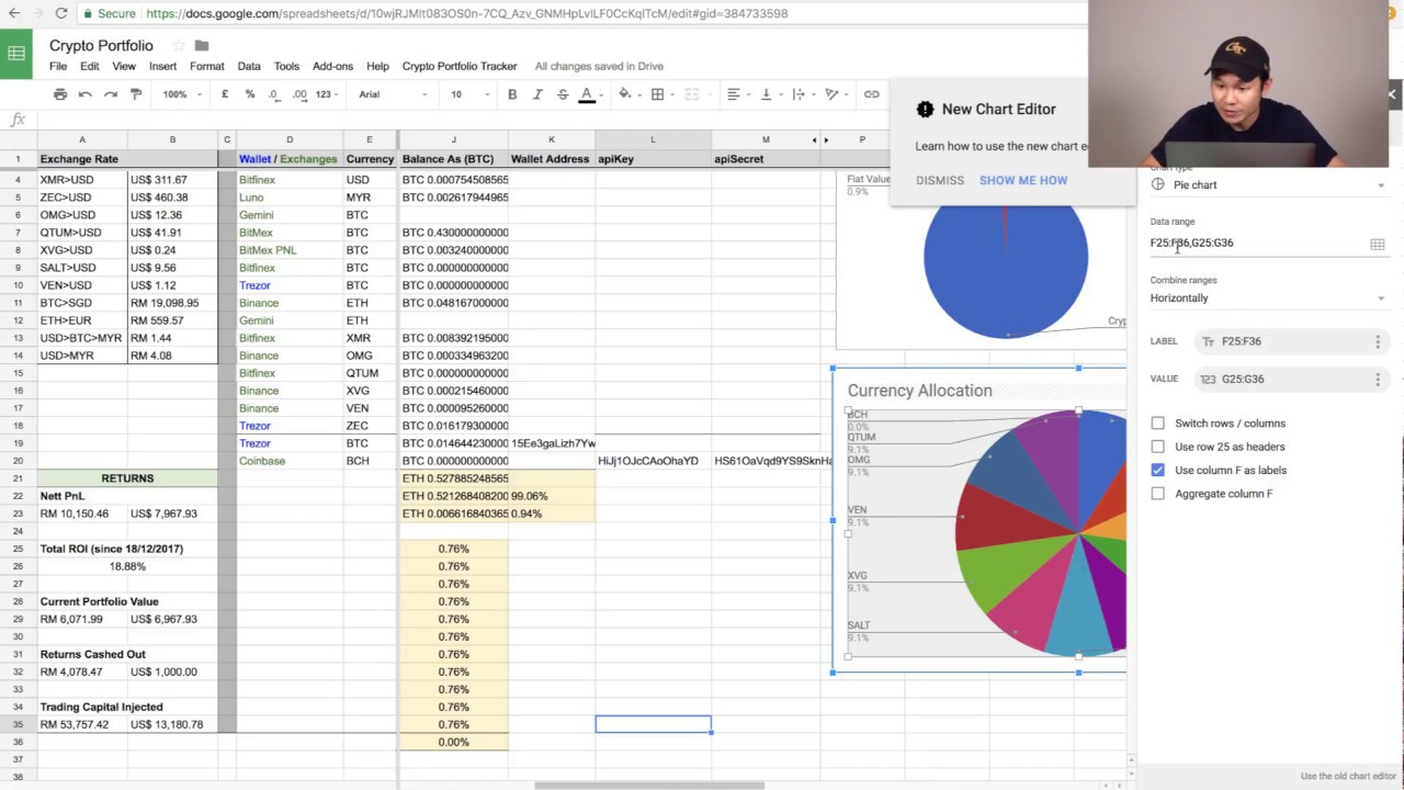 cryptocurrency portfolio tracker google sheets