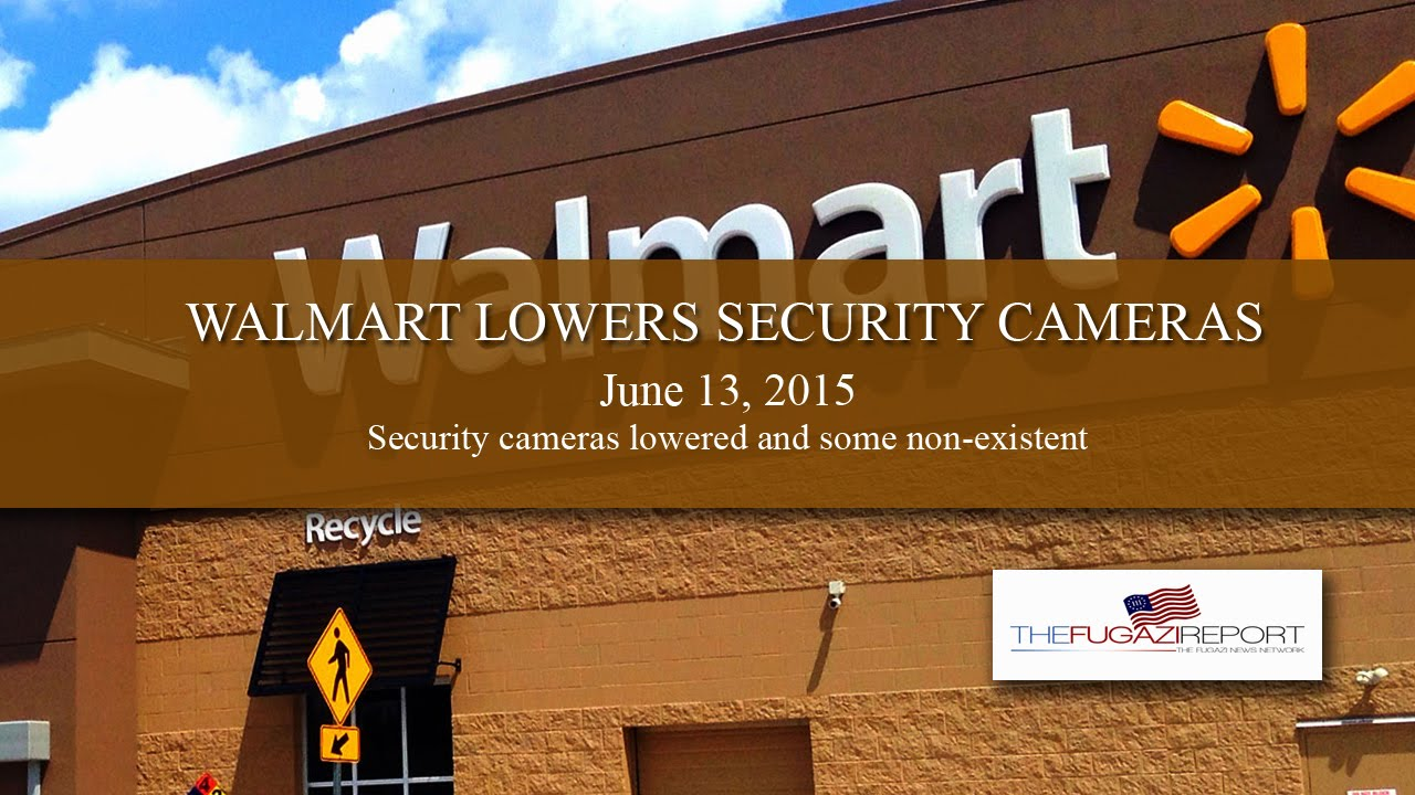 Camera Cameras For Sale At Walmart walmart security cameras lowered or missing 6 13 2015 youtube