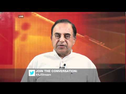 Internet HINDUS: Subramanian Swamy on Al Jazeera with Sagarika Ghost