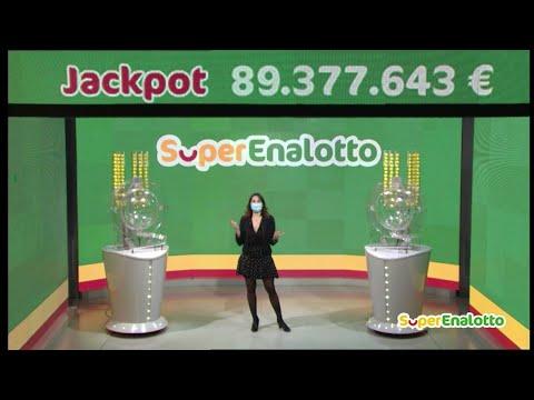 SuperEnalotto - Estrazione e risultati 09/01/2021