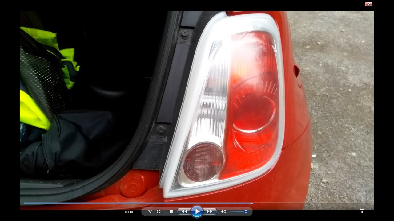 Walkthrough Guide Fiat 500 To Replace Rear Brake And