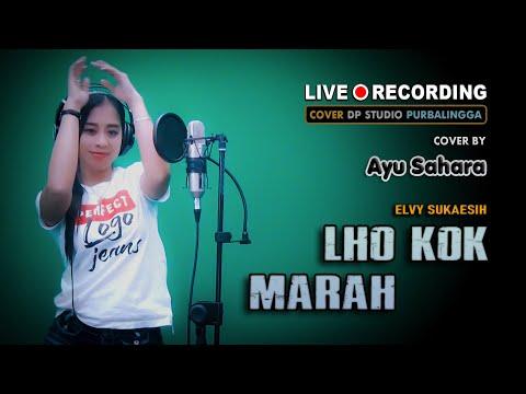 lho-kok-marah---elvy-sukaesih-[cover]-ayu-sahara-;-goyang-dangdut-klasik-lawas-🔴-live-dp-studio