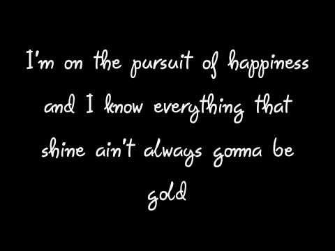 Pursuit of Happiness - Kid Cudi (Clean Lyrics on Screen!)