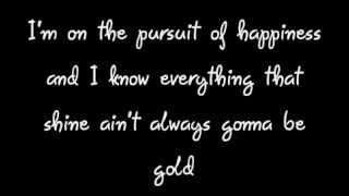 Pursuit of Happiness - Kid Cudi (Clean Lyrics on Screen!)