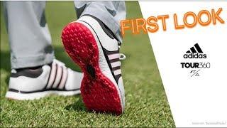 BRAND NEW Adidas Tour 360 XT SL Spikeless Golf Shoes   First Look!