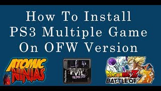 How to Install PS3 Multiple games Using PexPloit Lite with USB on OFW