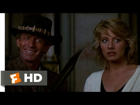That's A Knife - Crocodile Dundee (4/8) Movie CLIP (1986) HD