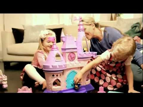 TV Commercial - Fisher Price - Little People - Disney Princess Songs Palace - Joy Of Learning