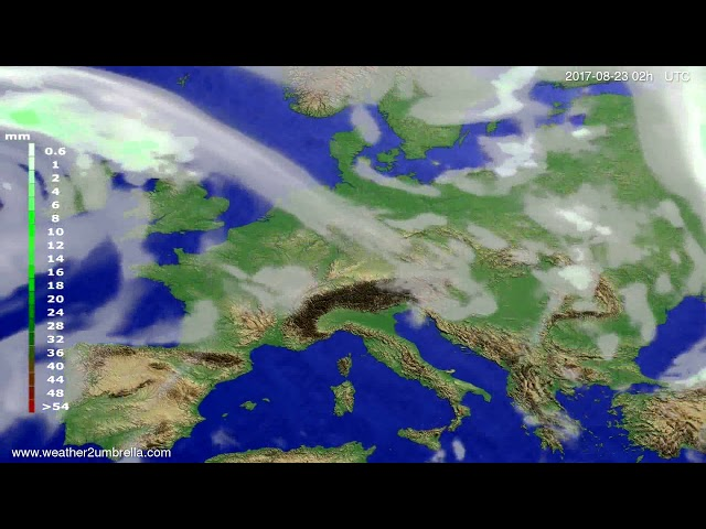 <h2><a href='https://webtv.eklogika.gr/precipitation-forecast-europe-2017-08-19' target='_blank' title='Precipitation forecast Europe 2017-08-19'>Precipitation forecast Europe 2017-08-19</a></h2>
