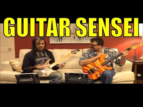 U.K.Guitar Shredder Jay Parmar Meets with Tony Fuentes - Part 1