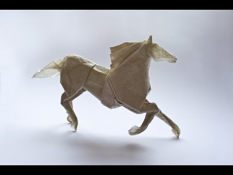 Origami Horse By Roman Diaz Youtube