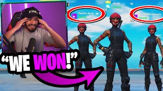 I got my best custom winners to play in my first ever squads customs... (we won!)