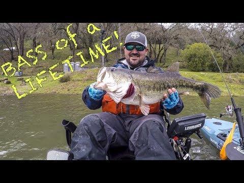 BASS Of A LIFETIME!   Lake Berryessa Monster   Kayak Bass Fishing