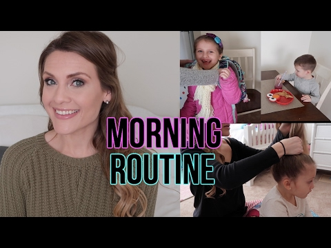 MORNING ROUTINE | WORKING MOM