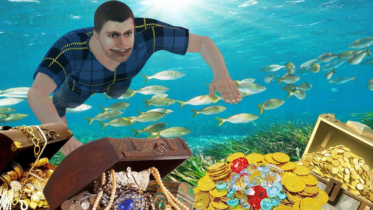एक लालची मछुआरा | Greedy Fisherman | मजेदार हिंदी कहानियां | Hindi Cartoon Story