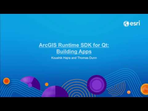 ArcGIS Runtime SDK for Qt: Building apps