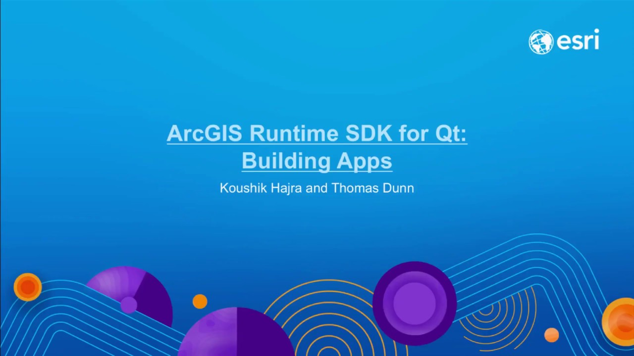 ArcGIS Runtime SDK for Qt (latest) | ArcGIS for Developers