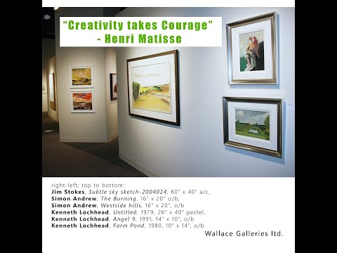 New Years Group Exhibition 2021 at Wallace Galleries, Calgary
