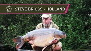 Carp Fishing - Steve Briggs In Holland!