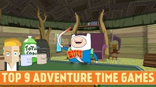 TOP 9 ADVENTURE TIME GAMES (ANDROID)