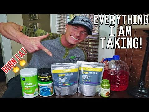 My Daily Fat Burning Supplement Guide | BCAAs - Fat Burners - Green Superfood Powders