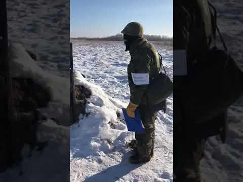 Военная полиция на стрельбах